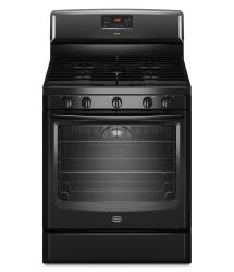 Brand: Maytag, Model: MGR8775AB, Color: Black