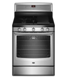 Brand: MAYTAG, Model: MGR8880AW, Color: Stainless Steel