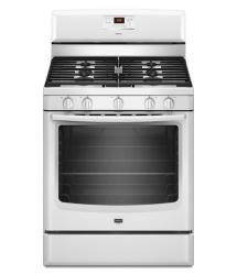 Brand: MAYTAG, Model: MGR8674AB, Color: White