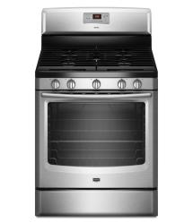 Brand: MAYTAG, Model: MGR8674AB, Color: Stainless Steel