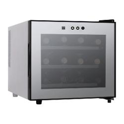 Brand: Haier, Model: HVTM12BSS, Style: 12 Bottle Thermoelectric Wine Cooler