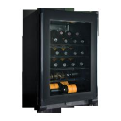 Brand: Haier, Model: HVFE024BBB, Style: 24 Bottle Wine Cooler