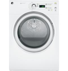 Brand: GE, Model: GFDN120EDWW, Style: 27 Inch 7.0 cu. ft. Electric Dryer