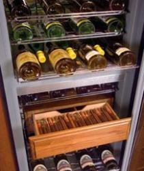 Brand: MARVEL, Model: S35354000, Style: Humidrawer Cigar Storage Compartment