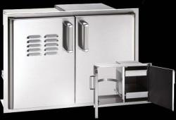 Brand: Fire Magic, Model: 53930S12T, Style: 30 Inch Flush Mounted Double Doors
