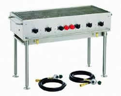 Brand: Crown Verity, Model: CVPCB48, Style: Stackable Portable Grill - 48 Inch