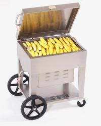 Brand: Crown Verity, Model: CVPS001, Style: Mobile Outdoor Commercial Steamer Propane