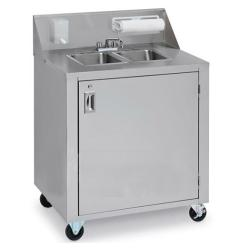 Brand: Crown Verity, Model: CVPHS1, Style: Hand Sink Double