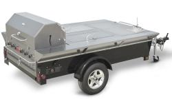 Brand: Crown Verity, Model: CVTG4, Style: Tailgate Grill