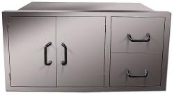 Brand: Vintage, Model: VPDC42, Style: 42 Inch Pantry and Drawer Combo