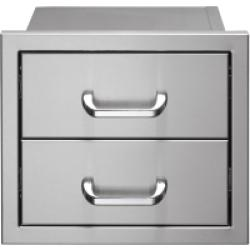 Brand: Vintage, Model: V2DR, Style: 17 Inch Double Storage Drawers
