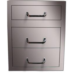 Brand: Vintage, Model: VU2DR, Style: 17 Inch Triple Storage Drawers