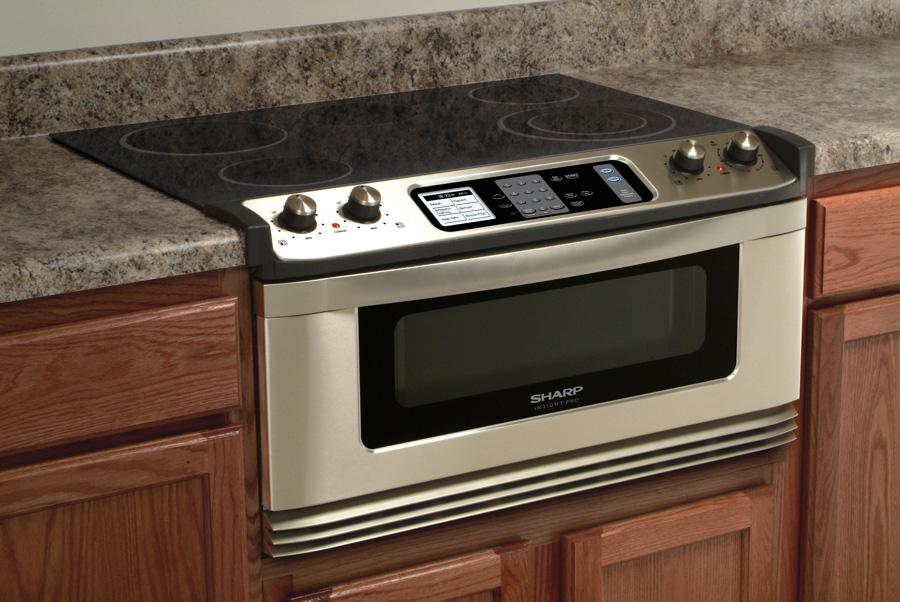 Sharp Kb5121kk 30 Quot Electric Cooktop And Microwave Drawer