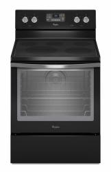 Brand: Whirlpool, Model: WFE540H0AW, Color: Black with Silver Handle