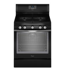 Brand: Whirlpool, Model: WFG540H0AE, Color: Black with Silver Handle