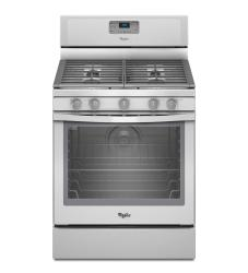 Brand: Whirlpool, Model: WFG540H0AE, Color: White with Silver Handle