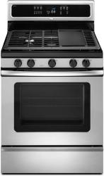 Brand: Whirlpool, Model: GFG474LVS, Color: Stainless Steel
