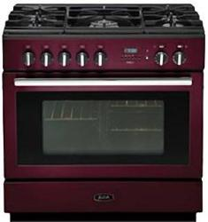 Brand: AGA, Model: APRO36DFBN, Color: Cranberry