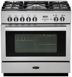 Brand: AGA, Model: APRO36DFBNSS, Color: Stainless Steel