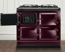 Brand: AGA, Model: ATCEEV3OS40DBL, Color: Aubergine