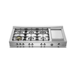 Brand: Bertazzoni, Model: CB486G00X, Fuel Type: Natural Gas