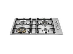 Brand: Bertazzoni, Model: QB30400X, Fuel Type: Stainless Steel