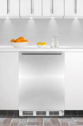Brand: SUMMIT, Model: FF67BISSHHADA, Style: ADA compliant built-in undercounter all-refrigerator