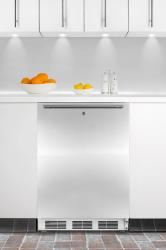 Brand: SUMMIT, Model: FF6LBISSHHADA, Style: ADA compliant built-in undercounter all-refrigerator