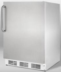 Brand: SUMMIT, Model: CT66JBIFR, Color: Stainless Steel Cabinet