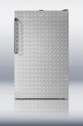 Brand: SUMMIT, Model: FS408BLSSHV, Color: Diamond Plate with Lock