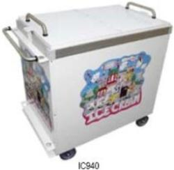 Brand: SUMMIT, Model: IC630, Style: Flip Top Ice-Cream Carts