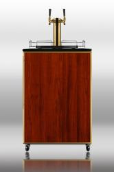 Brand: SUMMIT, Model: SBC490BFTWIN, Style: Freestanding beer dispenser