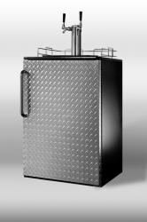 Brand: SUMMIT, Model: SBC490BIDPLTWIN, Style: Full-sized built-in beer dispenser