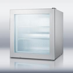 Brand: SUMMIT, Model: SCFU386CSS, Style: Countertop impulse freezer