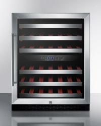 Brand: SUMMIT, Model: SWC530LBISTADA, Color: Black Cabinet