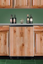 Brand: SUMMIT, Model: SWC6BLBIFR, Style: Built-In Undercounter Solid Door Wine Cellars