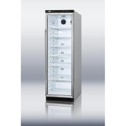 Brand: SUMMIT, Model: SCR1400CSS, Style: Commercial glass door beverage merchandiser