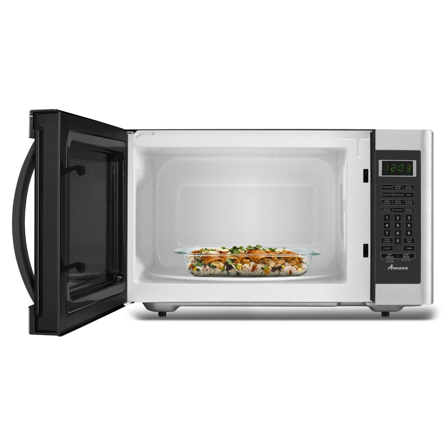 Countertop Microwave With Vent : AMC2166AS Amana amc2166as Countertop Microwaves