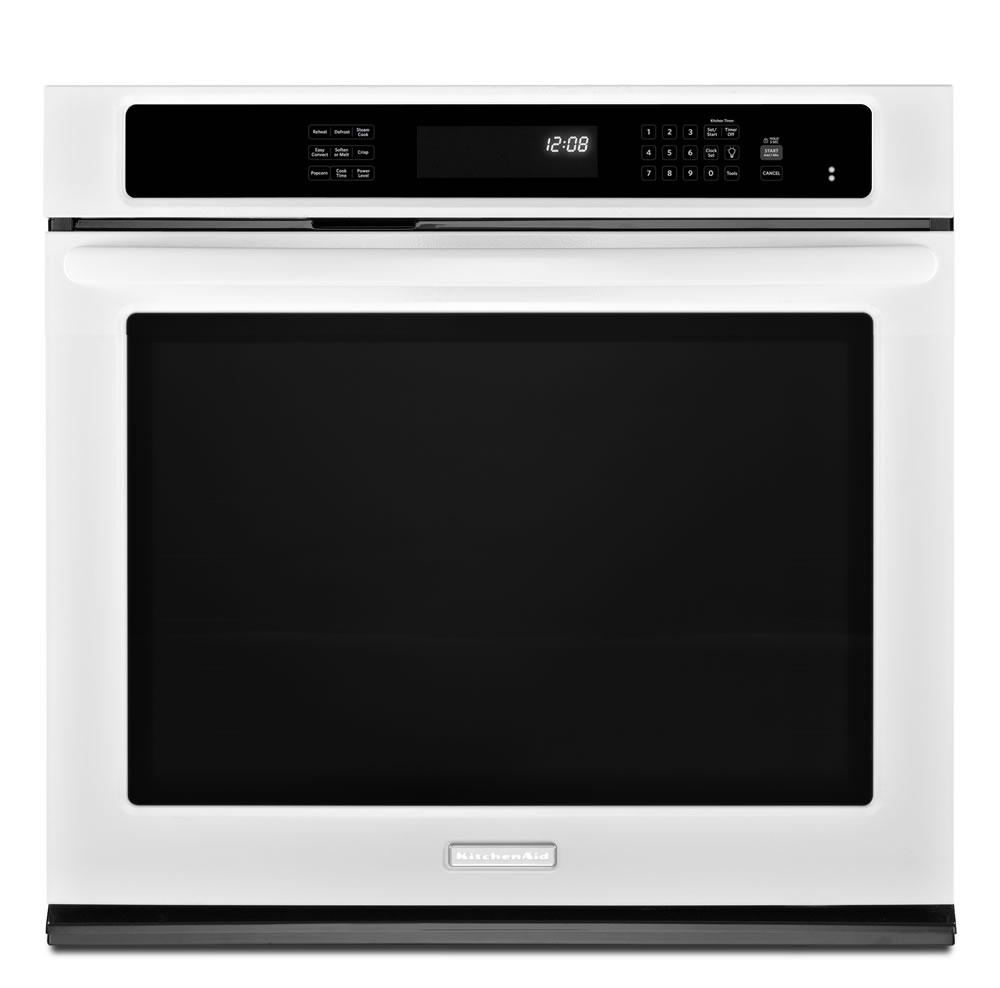 Kitchenaid Kebs109bss 30 Quot Single Wall Oven With 5 0 Cu Ft