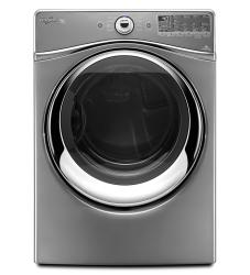 Brand: Whirlpool, Model: WED96HEAW, Color: Chrome Shadow