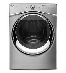 Brand: Whirlpool, Model: WED96HEAW, Color: Stainless Look