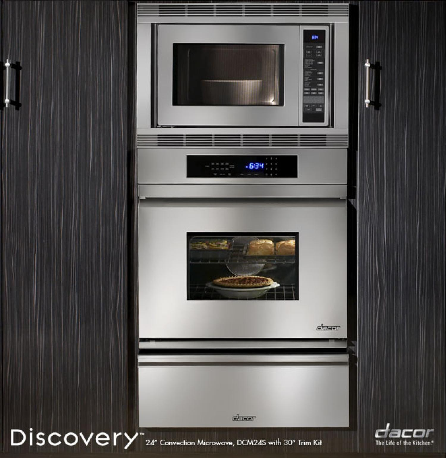 Dcm24 dacor dcm24 discovery countertop microwaves for Decor microwave