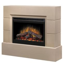 Brand: Dimplex, Model: BSP3033C, Style: Mason Electric Fireplace Package