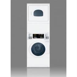 Brand: SPEED QUEEN, Model: STGX79WN, Style: 27 Inch Stacked Gas Washer/Dryer
