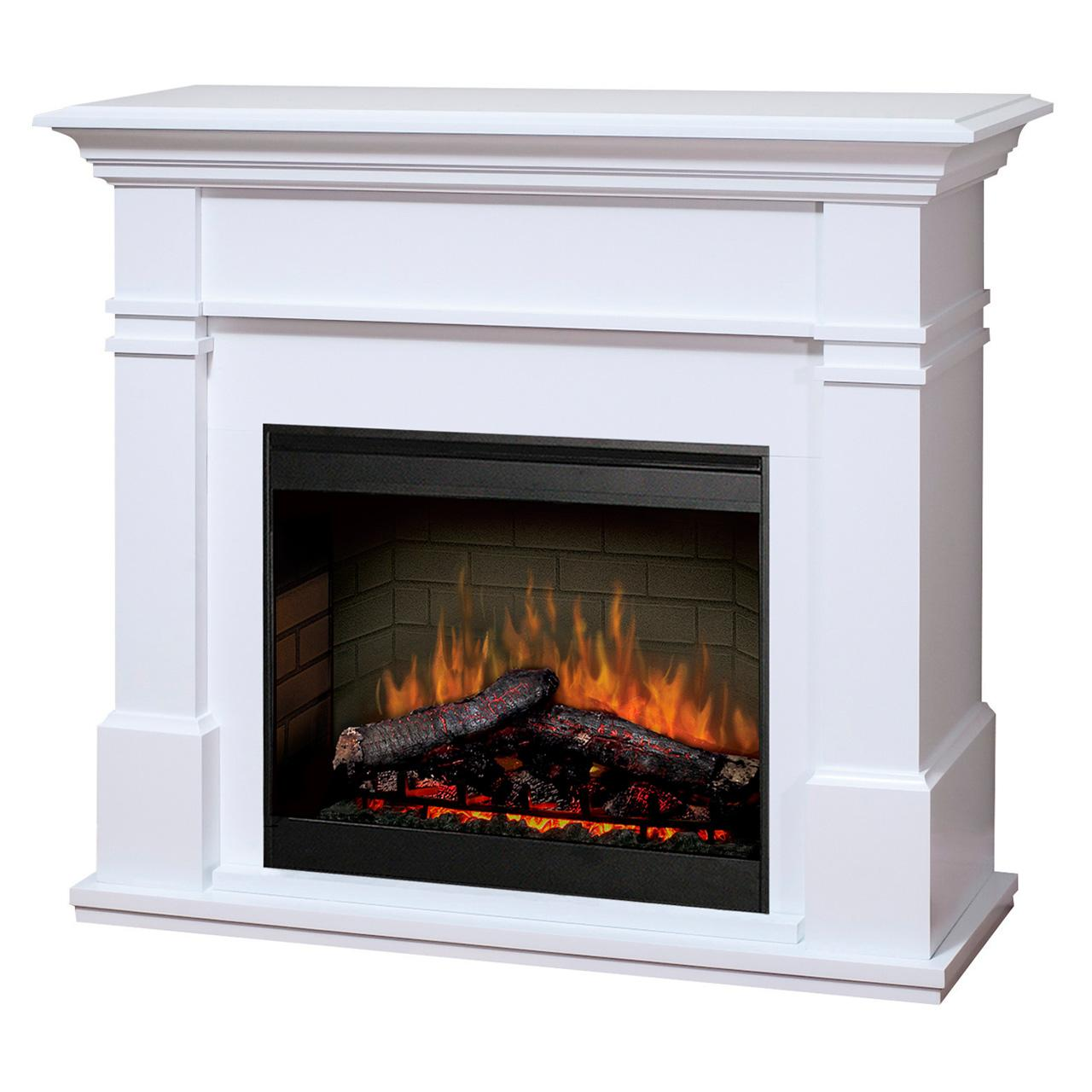BMP130W Dimplex Bmp130w Electric Fireplace White