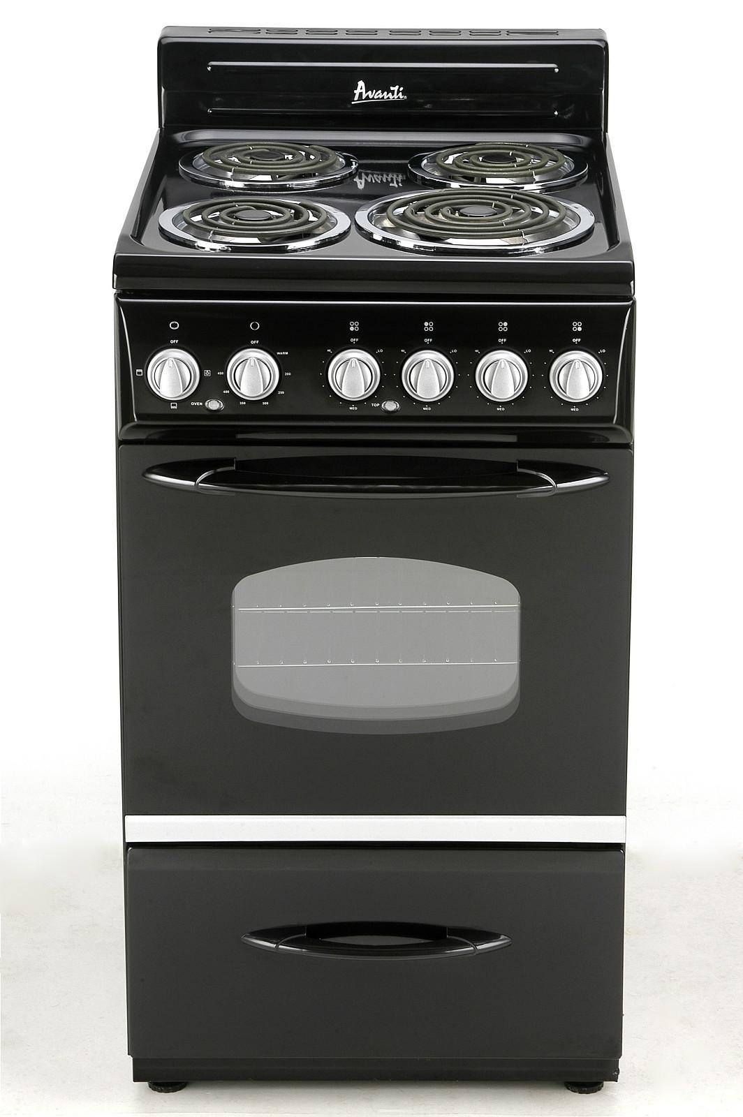 Avanti Er2002css 20 Inch Freestanding Electric Range With