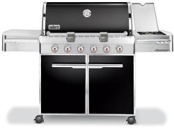 Brand: WEBER, Model: E620X, Fuel Type: Black Natural Gas
