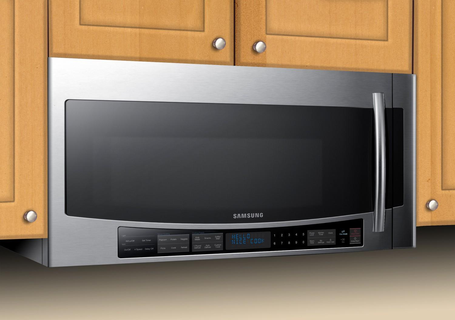 smh2117s samsung smh2117s over the range microwaves. Black Bedroom Furniture Sets. Home Design Ideas