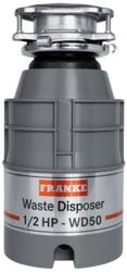 Brand: FRANKE, Model: WD50, Style: 1/2 HP Continuous Feed Waste Disposer