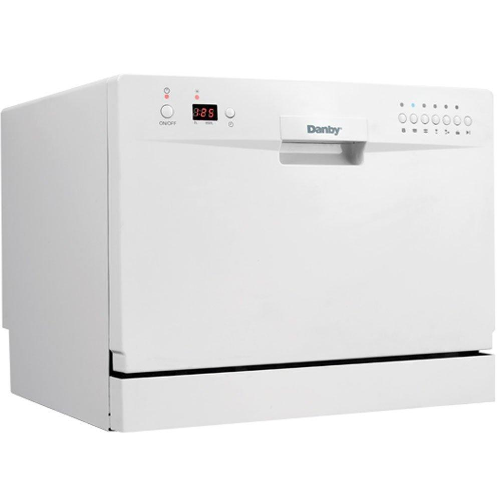 ... : DANBY, Model: DDW611WLED, Style: Full Console Countertop Dishwasher